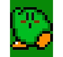 Kirby (Green) Photographic Print