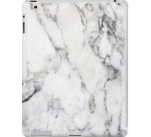 WHITE MARBLE iPad Case/Skin