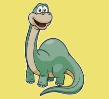 Green Dino Baby Kids Tee