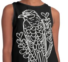 Diderick Cuckoo in White Contrast Tank