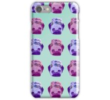 flower crowned PUG iPhone Case/Skin
