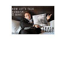 James Leary - Trash Talk Photographic Print