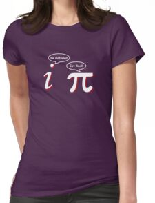 Be Rational Get Real Funny Math Tee Pi Nerd Nerdy Geek Womens Fitted T-Shirt