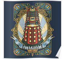 Dalek New-Nouveau Poster