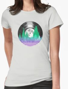 Night Music LP Sky Womens Fitted T-Shirt