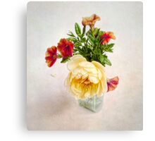 Small Summer Bouquet Canvas Print