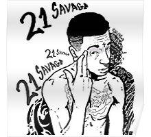 21 Savage Poster