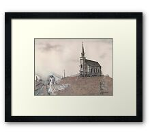 The Ghost Bride Framed Print