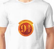 platform 9 3/4 Unisex T-Shirt