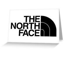 the north face Greeting Card