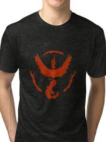 Team Valor: Fire Tri-blend T-Shirt