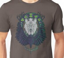 Raven and the Wolf Unisex T-Shirt