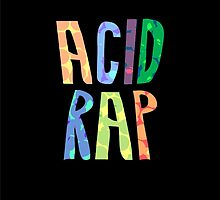Acid Rap Lettering by NickSchok