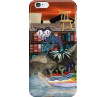 Books are just words on paper until your imagination gives them wings iPhone Case/Skin