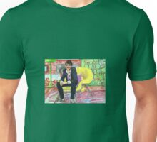 Cotching in the Big Yellow Chair Unisex T-Shirt