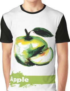 illustration of fruit apple Graphic T-Shirt