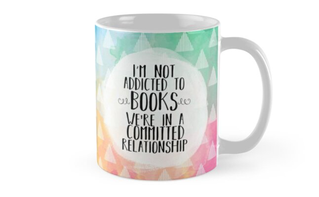 Committed Relationship (Watercolors) by bookscupcakes