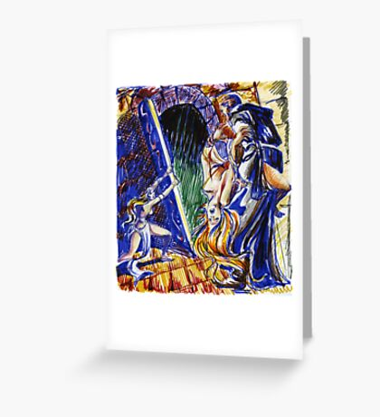 Conan-fantasy illustration 2 Greeting Card