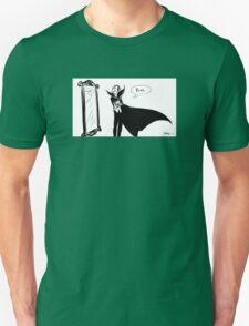 Blah... Vampire is unimpressed Unisex T-Shirt