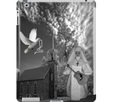 OH I'D LIKE TO GO BACK TO THAT OLD COUNTRY CHURCH-AND HEAR THE SONGS OF PRAISE - PILLOW / TOTE BAG iPad Case/Skin