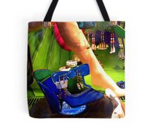 MY BLUE SHOE! Tote Bag