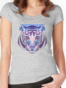 Tiger Hipster Animals Gift Women's Fitted Scoop T-Shirt