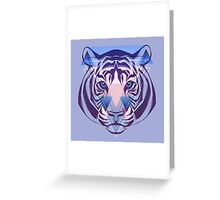 Tiger Hipster Animals Gift Greeting Card