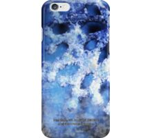 snowflake in blue 8 iPhone Case/Skin