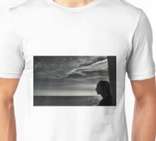 Looking Out To Sea Unisex T-Shirt