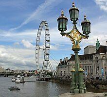London Eye by Astrid Ewing Photography