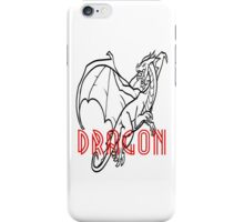 Comic Cartoon Dragon Design iPhone Case/Skin