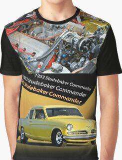 1953 Studebaker Commander 'Hemified' Graphic T-Shirt