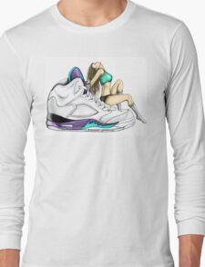 Grape 5 Jordan Girl Long Sleeve T-Shirt