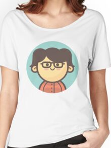 Mini Characters - Asian Girl Women's Relaxed Fit T-Shirt