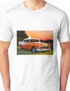 1955 Chevrolet Bel Air Hardtop Unisex T-Shirt