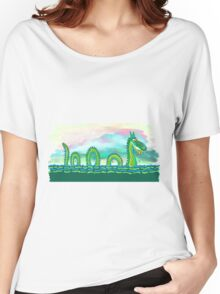 Nosey Nessie Women's Relaxed Fit T-Shirt