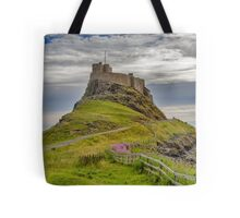 The Castle  Holy Island Tote Bag