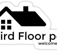 The Third Floor Podcast Sticker