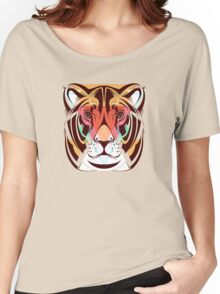 Lioness Fashion illustration Animals Gift Women's Relaxed Fit T-Shirt