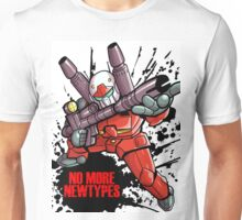 Guncannon- No More Newtypes Unisex T-Shirt