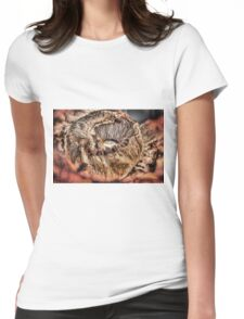 Mushroom HDR Womens Fitted T-Shirt