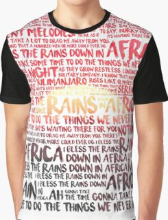 Africa - Toto Graphic T-Shirt