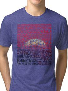 Africa - Toto Tri-blend T-Shirt