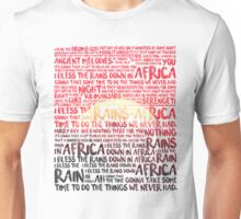 Africa - Toto Unisex T-Shirt