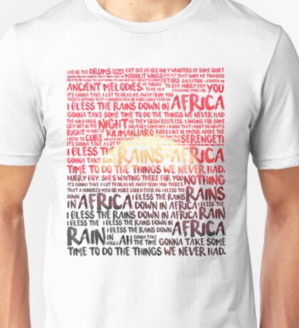 Africa - Toto Unisex T-Shirt