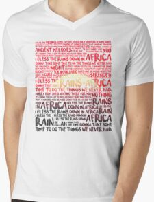 Africa - Toto Mens V-Neck T-Shirt