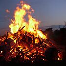 bon fire by wormink