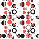 Abstract seamless pattern by Tanor