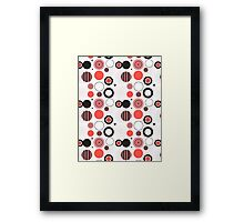 Abstract seamless pattern Framed Print