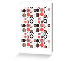 Abstract seamless pattern Greeting Card